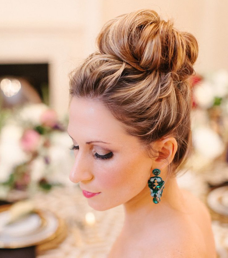 Bridal Buns: 15 Ideas For Hairstyles On The Big Day