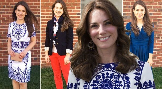 Why This Woman Dresses Exactly Like Kate Middleton