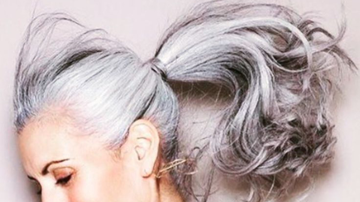 Tips To Take Care Of Your Grey Hair