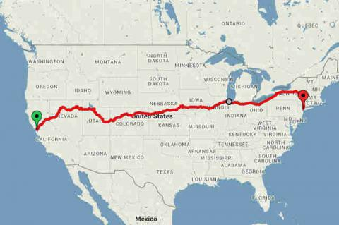 Travel Across The United States For Less Than £200