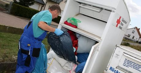 German Charity Workers Made A Horrifying Discovery Inside One Of Their Donations Bin