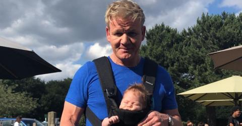 Gordon Ramsay Posted This Sweet Photo With His Son - But One Detail Got Everyone Panicking