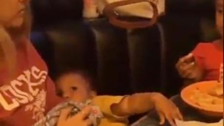 Baby Thanking Its Mother For Feeding It Will Brighten your Day