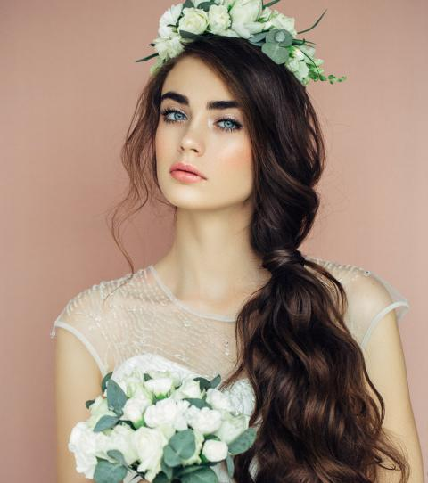 10 Natural Bridal Hairstyles