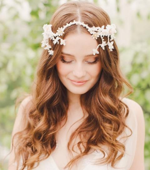 10 Natural Bridal Hairstyles