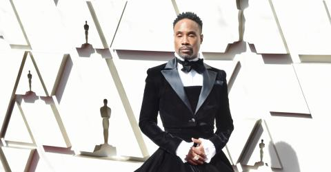 People Can't Stop Talking About Billy Porter's Stunning Oscars Outfit