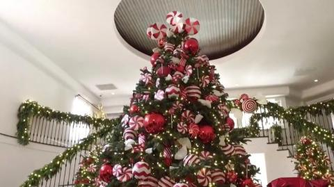 From Emily Ratajkowski To Kylie Jenner, These Are Our Favourite Celebrity Christmas Trees