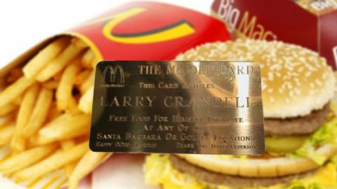McDonald's Are Offering You The Chance To Win Free Food For The Next 50 Years With The McGold Card