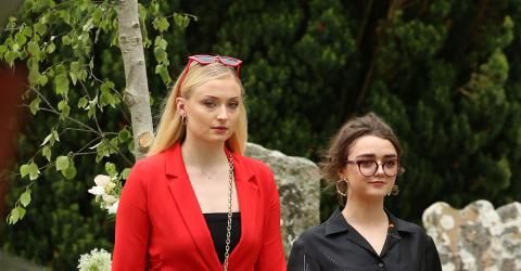 The Internet Is Divided Over What Sophie Turner Wore To Kit Harington's Wedding