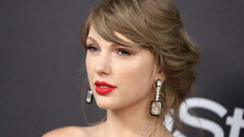 Taylor Swift Dares To Wear All Glitter and It's Gorgeous