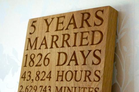 Great Gift Ideas For Your 5 Year Wedding Anniversary