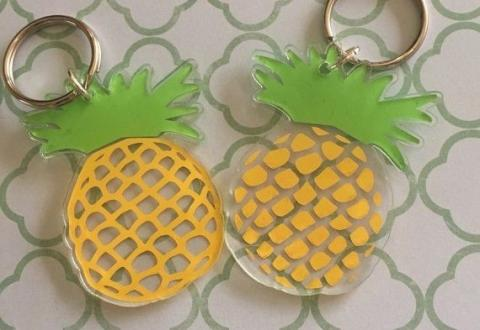 Turn Your Old Plastic Containers Into Fun Keychains