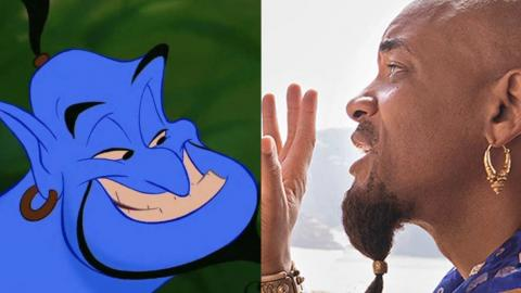 We've Finally Got Our First Look At Will Smith As The Genie In Aladdin - And People Have A Lot Of Feelings