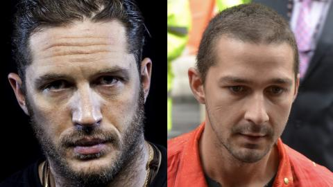 'He's A Scary Dude', Tom Hardy Reveals Shia LaBeouf Once Knocked Him Out