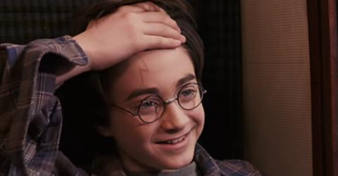 According To This Fan Theory, Harry Potter's Scar Isn't Actually A Lightning Bolt
