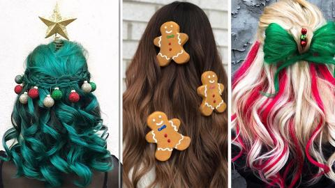 The Most WTF Hairstyles To Add Some Craziness To Your Christmas