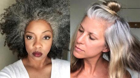 These Women Are Posting Pictures Of Their Grey Hair On Social Media For An Important Reason