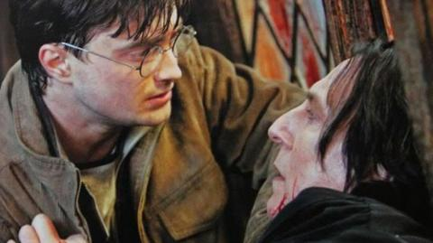 The Huge Hidden Meaning We All Missed In Snape's First Words To Harry Potter