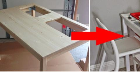 She Builds An Amazing Lego Game Table For Her Kids And It Was So Easy And Fun