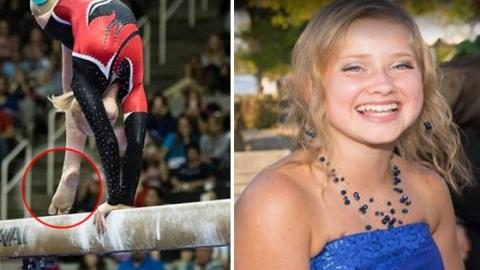 Despite Her Battle Against Cancer, This Young Gymnast Is Beating All The Odds