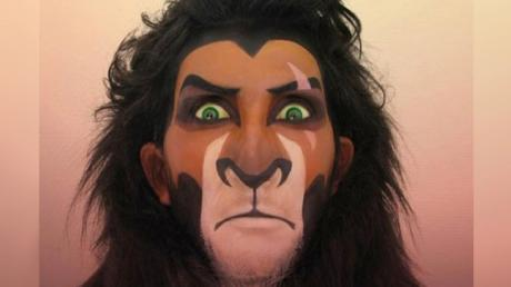 This Woman Transforms Herself Into Disney Villains Using Only Makeup
