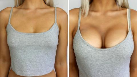 Make a cup boobs bigger
