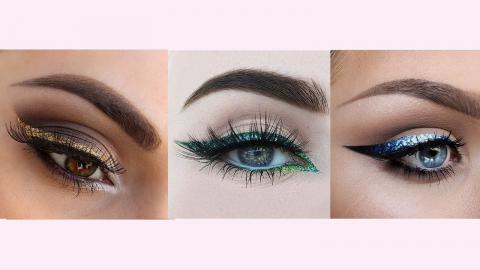 10 Gorgeous Ways To Do Glitter Eyeliner