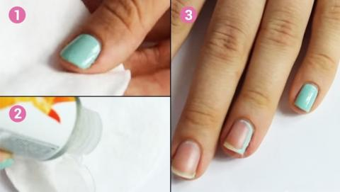 Remove Nail Varnish Without The Remover
