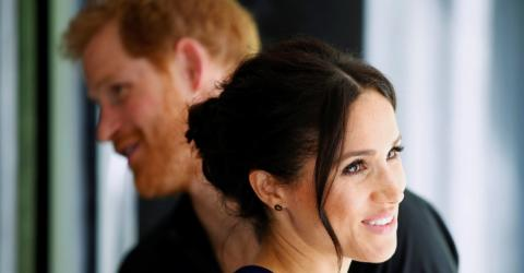 This Very Unusual Girls' Name Is The New Hot Favourite For Harry And Meghan's Baby