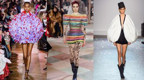 The Most Unusual Looks Spotted On The Runway During Fashion Week