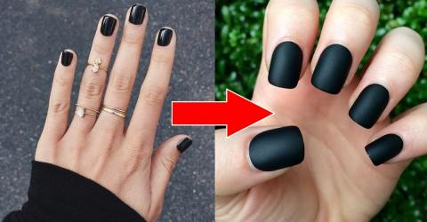 Transform Any Nail Polish Into A Matte Look With This Simple Trick