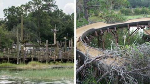 This Disney Park Had Been Abandoned For 15 Years... When She Ventured In She Found Something Disturbing
