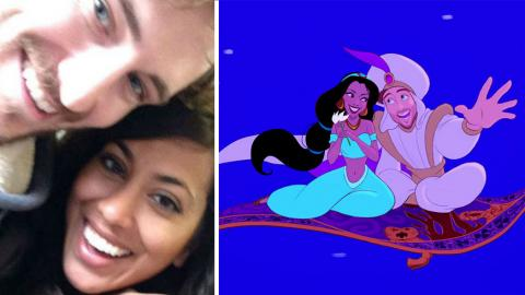 He Turned His Girlfriend Into A Disney Princess For Valentine's Day, And The Results Are Incredible