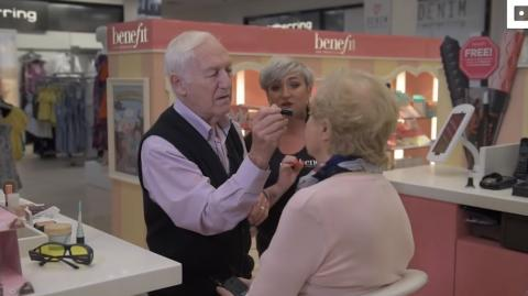 This 84-Year-Old Man Became A Makeup Artist For The Most Beautiful Reason
