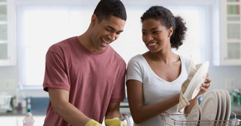 This Is How Letting Your Man Do The Washing Up Could Save Your Relationship