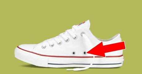 This Is What The Little Holes On The Sides Of Converse Are Really For