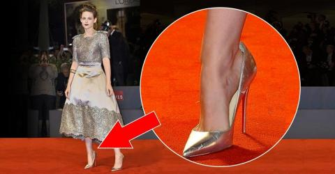 This Is The Real Reason Celebs Always Wear Shoes That Are Too Big For Them