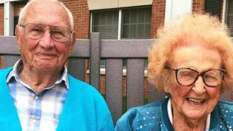 A Couple Who Waited Over 100 Years To Find Eachother Recently Tied The Knot