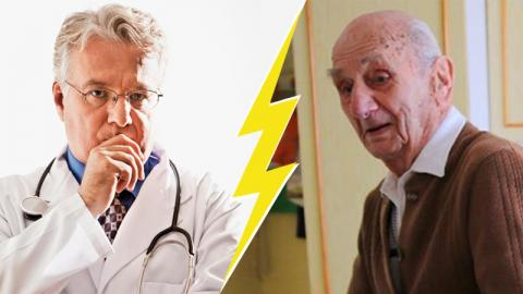 Doctors Can't Believe What Germany's Oldest Grandfather Eats Every Day