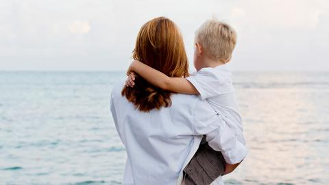 Whilst Hugging Her Son, This Mum Discovered Something Awful