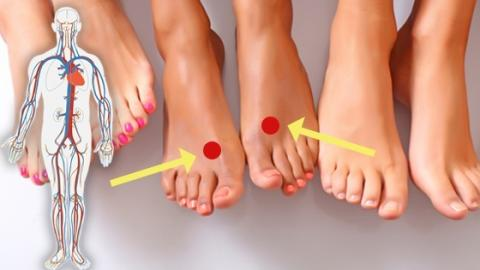 Pressing This Spot On Your Foot Could Fight Stress And Indigestion