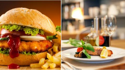 Is It Healthier To Eat At A Fast Food Joint Or At A Restaurant? The Answer May Surprise You...