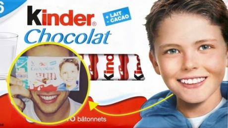 The Kid From The Kinder Bars Is All Grown Up And People Are Shook