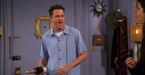 It Turns Out Matthew Perry (AKA Chandler)'s Dad Was In Friends Too - And Nobody Ever Noticed