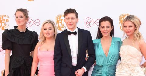 Tabloid Slammed For 'Vile' Coverage Of Derry Girls Star's BAFTAs Dress