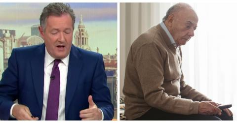 Piers Morgan Slams 'Disgusting' BBC For Cutting TV Licence For Pensioners