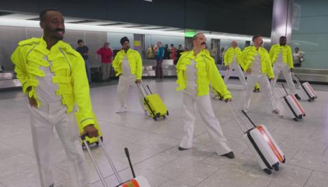 This Insane Video Of Heathrow Workers Dancing To Queen Is Going Viral