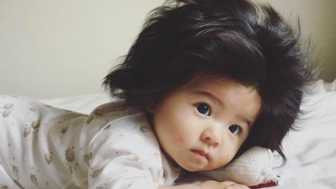 Baby Chanco: The Baby Born With The Hair We All Dream Of Having