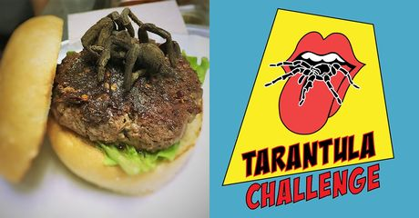 This Restaurant Serves A Tarantula Burger... And Its Taste Is Not What You'd Expect