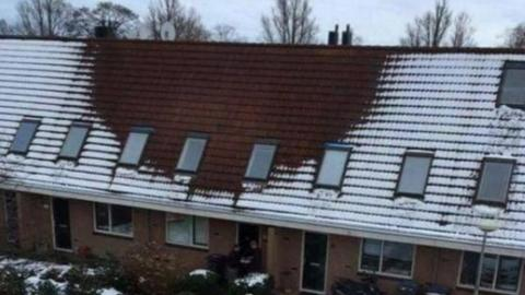 This House's Roof Had No Snow On It. When The Police Went Inside They Made A Surprising Discovery